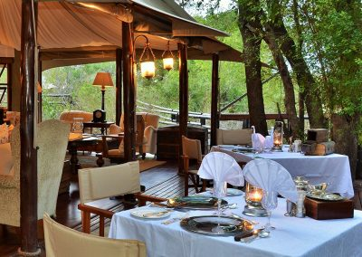 Hamiltons Tented Camp Restaurant