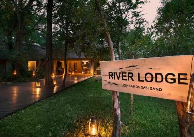 River Lodge Entrance