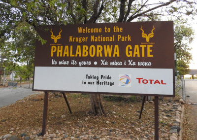 Phalaborwa Gate In The Kruger National Park