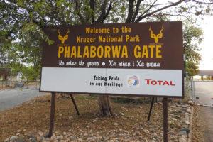 Phalaborwa Gate In The Kruger National Park