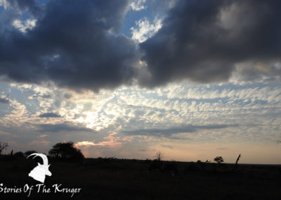Beautiful Skies Close To Hippo Pools Kruger Park