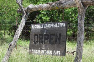 Orpen Gate In The Kruger National Park